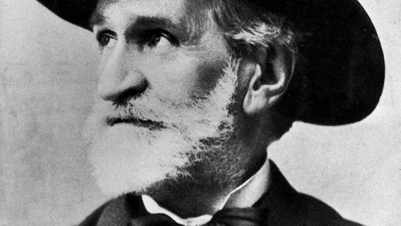Der italienische Komponist Giuseppe Verdi © picture-alliance / United Archives