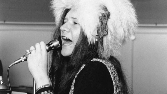 Die amerikanische Sängerin Janis Joplin 1969 in London. © picture alliance / Photoshot