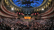 Der gefüllte Saal der Royal Albert Hall in London während der BBC Proms. © NDR/Press Department BBC Proms