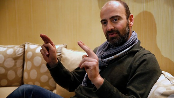Der Klarinettist Kinan Azmeh im Januar 2017. © picture alliance/AP Photo Foto: Hussein Malla
