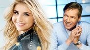 Beatrice Egli und Roland Kaiser (Montage) © White Records, universal music Foto: Manfred Esser