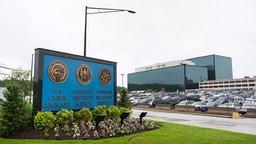 Außenansicht des NSA-Hauptquartiers in Fort Meade, Maryland, USA. © dpa Foto: Jim Lo Scalzo