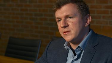 "James O'Keefe, Gründer des umstrittenen ""Project Veritas"".  Foto: Screenshot"
