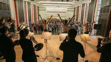 Bildergalerie: Schüler tanzen zu Gershwin