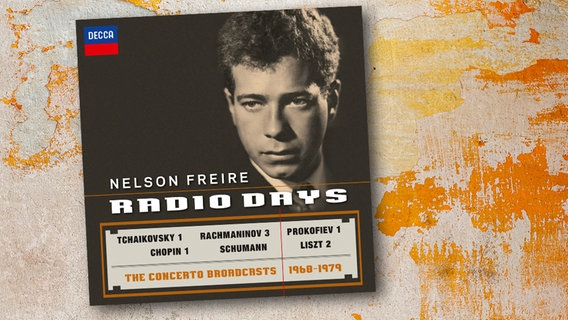 "CD-Cover: Nelson Freire - ""Radio Days"" © Decca"