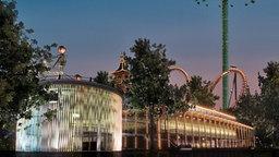 Der Konzertsaal im Kopenhagener Tivoli, einem der weltweit bekanntesten Vergnügungsparks. © Tivoli