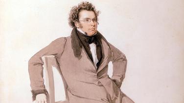 Franz Schubert (Ausschnitt aus einem Aquarell von Wilhelm August Rieder, 1825) © akg-images