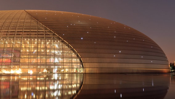 Beijing National Centre for the Performing Arts © Creative Commons Foto: Evilbish