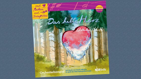 "CD-Cover von dem Orchesterhörspiel ""Das kalte Herz"" © headroom sound production"