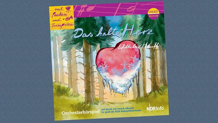 """CD-Cover von dem Weihnachtskonzert """"Das kalte Herz"""" © headroom sound production"""
