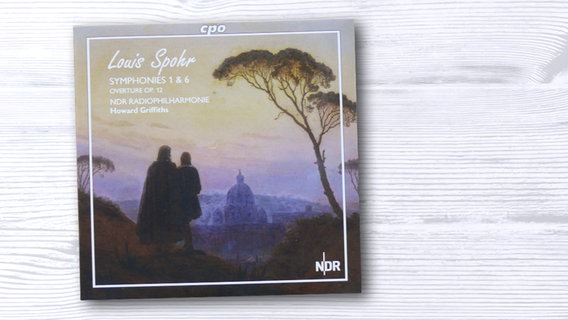 CD-Cover: Louis Spohr Symphonies 1 & 6 © cpo