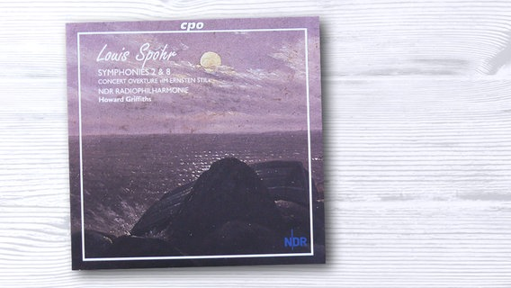 CD-Cover: Louis Spohr Symphonies 2 & 8 © cpo