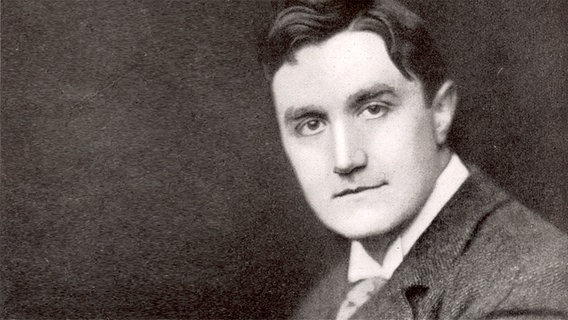 Schwarz-weiß-Porträt: Ralph Vaughan Williams © picture alliance/Mary Evans Picture Library