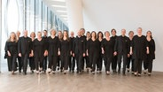 Ensemblefoto: der NDR Chor © NDR Foto: Michael Zapf