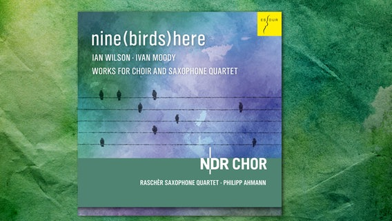 CD-Hülle: NDR Chor: nine(birds)here © ACCENT