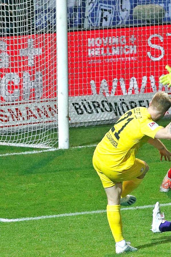 VfL Osnabrück verliert Derby gegen Bielefeld