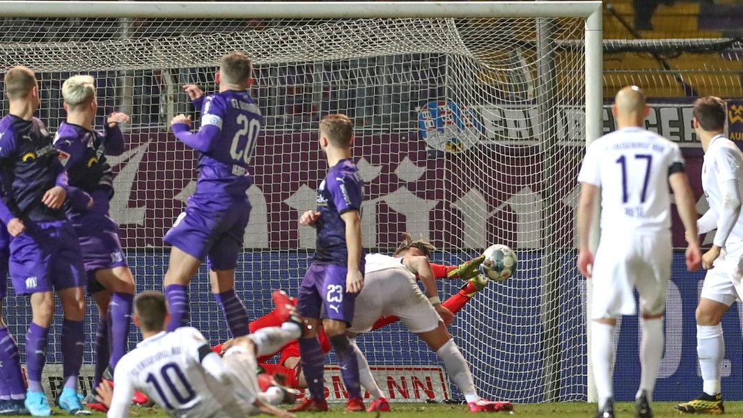 VfL Osnabrück nur 0:0 gegen Erzgebirge Aue