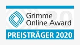 Das Logo des Grimme Online-Award für den Publikumspreis / Preisträger. © - Foto: -
