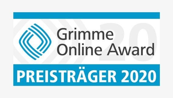 Grimme Online Award Winner / Award Winner Logo.  © - Foto: -