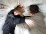 Gerangel unter Jugendlichen © picture-alliance / dpa