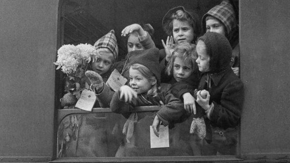 Kindertransport in der Nachkriegszeit © picture alliance / IMAGNO/Votava