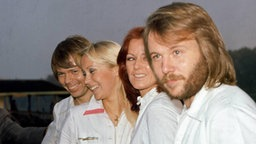Die schwedische Pop-Gruppe ABBA © Picture-Alliance/Photoshot