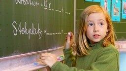 Schuluntericht in einer Grundschule © picture-alliance / Sven Simon Fotograf: Frank Hoermann/SVEN SIMON