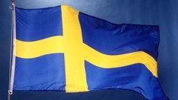 Schwedische Flagge © dpa