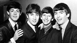 The Beatles: Paul McCartney, John Lennon, Ringo Starr, George Harrison (v. l. n. r.) © Picture-Alliance / empics