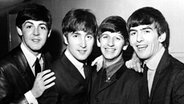 The Beatles: Paul McCartney, John Lennon, Ringo Starr, George Harrison (v. l. n. r.) © Picture-Alliance / empics
