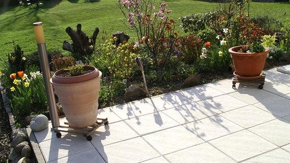 Garten Fliesen Selber Machen