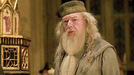 Albus Dumbledore - Schulleiter der Zauberschule Hogwarts aus dem Film Harry Potter