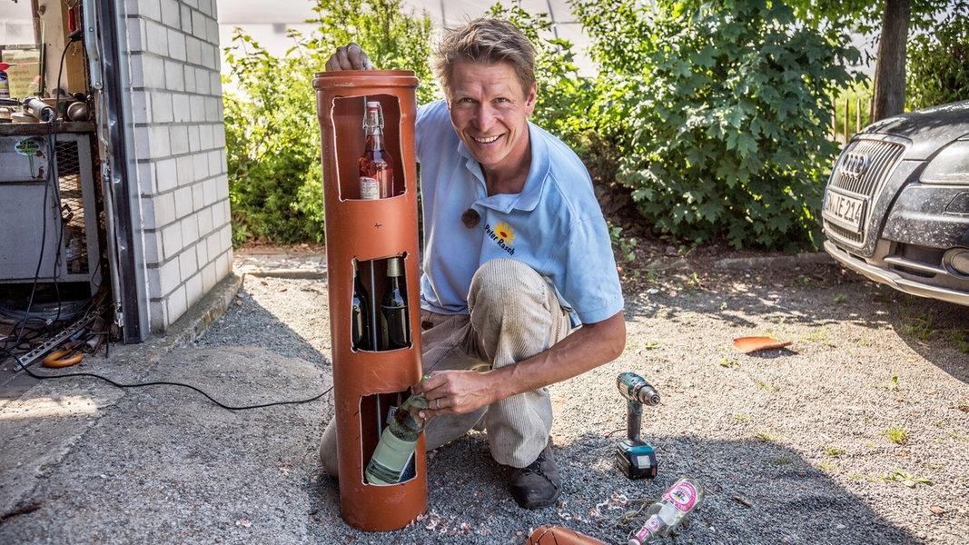 Erdkühlschrank für den Garten selbst bauen