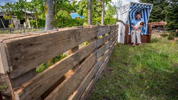 Paletten für den Garten nutzen | NDR.de - Ratgeber - Garten