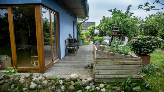 Sichtschutz Auf Dem Balkon Durch Pflanzen Ndr De Ratgeber Garten