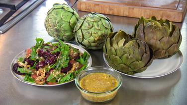 Rezept Artischockenherzen Mit Avocado Mus Ndrde Ratgeber Kochen