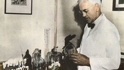Sir Alexander Fleming (um 1940). © picture-alliance / akg-images