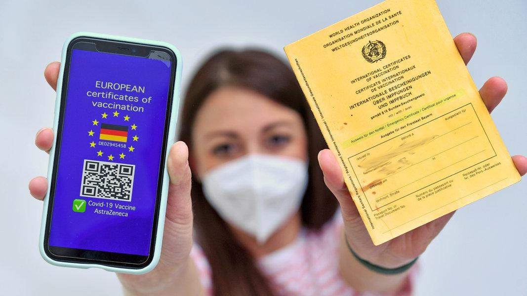 Digitaler Impfpass: Wer bekommt ihn und wie funktioniert ...