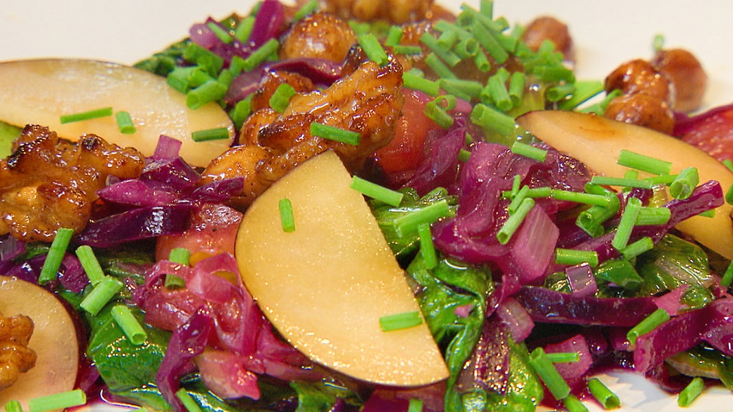 Gesunde Salate Vitamine Fu00fcr Den Herbst   NDR.de - Ratgeber - Gesundheit