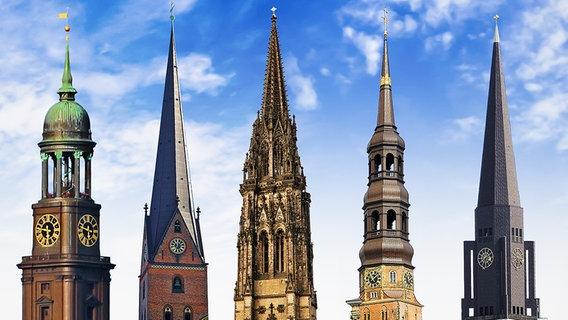 Wahrzeichen Und Denkmaler Hamburgs Hauptkirchen Ndr De Ratgeber