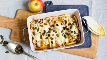 Rezept Schneller Chicorée Apfel Auflauf Ndrde Ratgeber Kochen