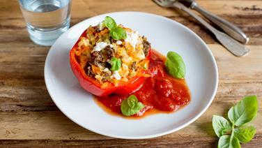 Rezept Gefüllte Paprika Mit Feta Und Hackfleisch Ndrde