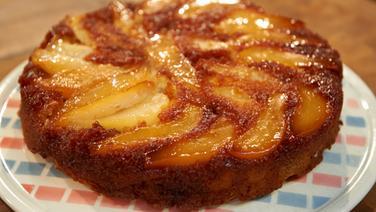 Birnenkuchen mit Amaretti
