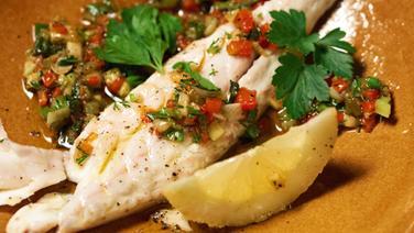 Rezept Gegrillter Fisch Mit Gemuse Vinaigrette Ndr De Ratgeber