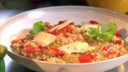 Graupen-Risotto mit Paprika © NDR