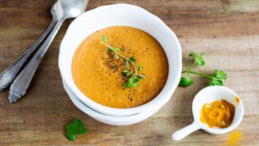 rezept rote linsen suppe mit koriander. Black Bedroom Furniture Sets. Home Design Ideas