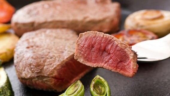 Ein Steak. © Fotolia.com Foto: Stocksnapper