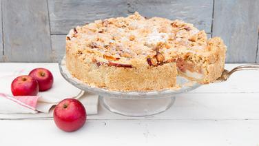 Rezept Apfelkuchen Mit Pudding Und Mandelstreuseln Ndr De