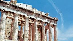 Das Parthenon auf der der Athener Akropolis © picture-alliance/akg-images