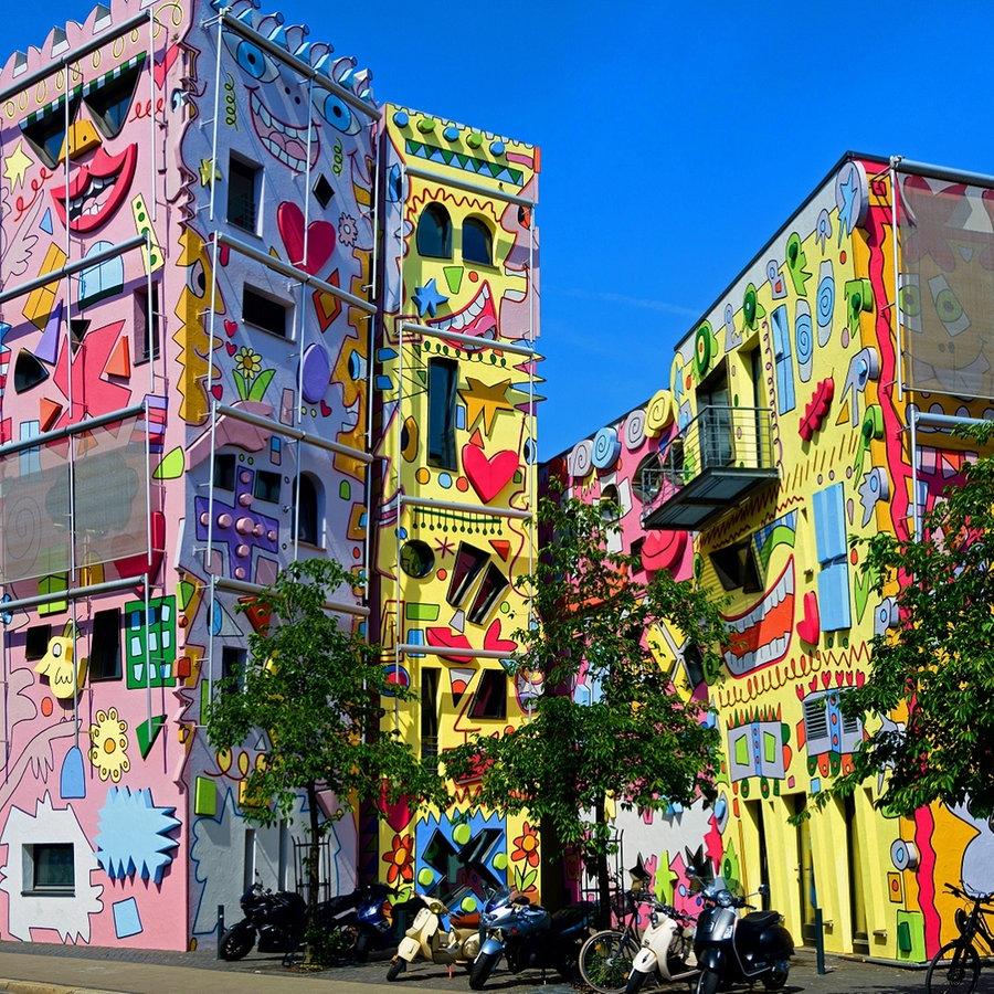 Happy Rizzi House Wie das Kunsthaus nach Braunschweig kam   NDR ...